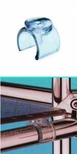 Держатель для стеклянных полок